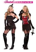 Black Magic Woman Sexy Adult Costume for Halloween   Pure Costumes