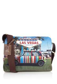 Paul Smith Accessories  Las Vegas Mini Cooper Flight Bag by Paul