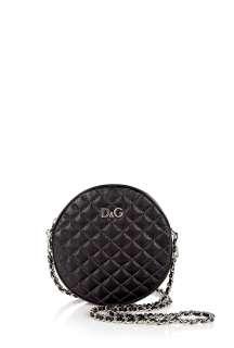 Black Lily Glam Cross Body Mini Bag by D&G
