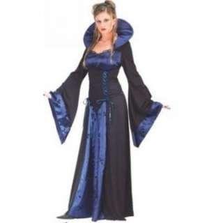 Adult Sexy Blue Vampiress Costume   Sexy Vampire Costumes   15FW5136BU