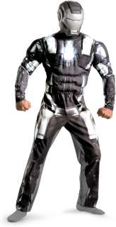 Iron Man 2 Movie   War Machine Classic Muscle Adult   Includes