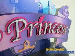 Disney Princess Cinderella Castle 3D Display Prop Sign