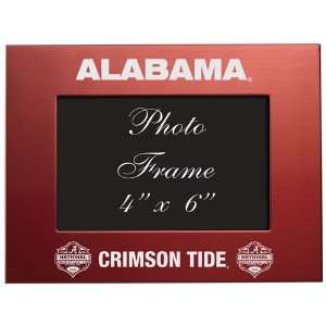 NCAA Alabama Crimson Tide 2011 BCS National Champions 4 x