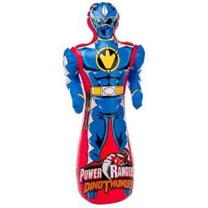Power Rangers Dino Thunder Bop Bag Blue Toys & Games