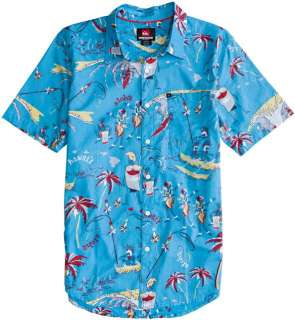 QUIKSILVER FREELOVE SS SHIRT  Mens  Clothing  Short Sleeve Shirts