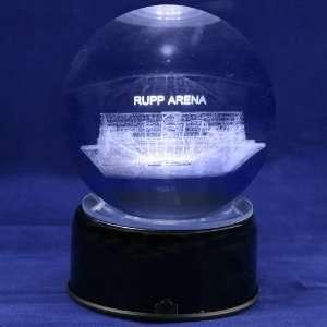 Kentucky Wildcats Rupp Arena 3D Laser Globe:  Sports