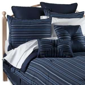 NAUTICA STRIPE NAVY BLUE AND WHITE SPRING SUMMER BED IN A BAG