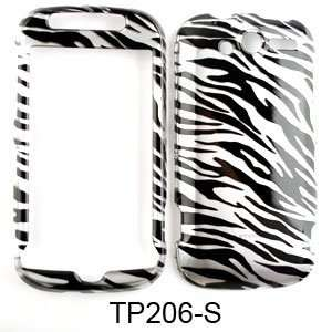 HTC My Touch 4G Transparent Zebra Print Hard Case,Cover