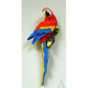 Parrot Macaw 3d Bird Wall Statue Art