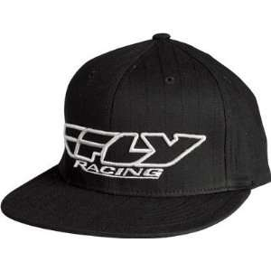Racing Youth Corporate Pin Stripe Hat   Youth/Black/White Automotive