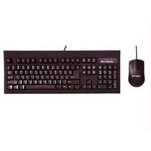 USB Keyboard w/ Optical Mouse Black RoHS Electronics