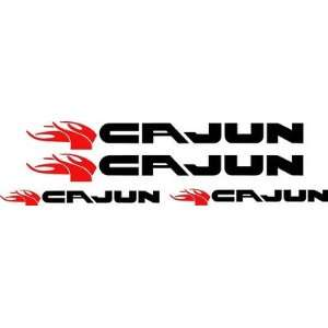Cajun Bass Boat Vinyl Decal Restoration Kit 4 Decal Kit 50 Pro. Grade