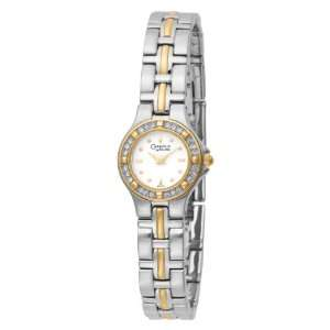 by Bulova Womens 45L75 Crystal Accented White Dial Watch Watches