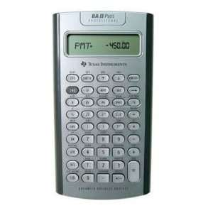 TI BA II Plus Pro Calculator BAIIPLUSPRO Office Products