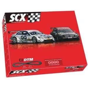SCX   1/32 C2 GT Race Set, Analog (Slot Cars): Toys & Games