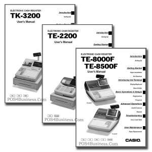 Casio Cash Register Manual   PDF Office Products