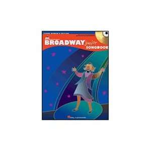 Broadway Junior Songbook   Young Womens Edition Book & CD Musical