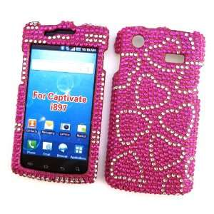 Case Rhinestone Cover Candy Hearts Design Cell Phones & Accessories
