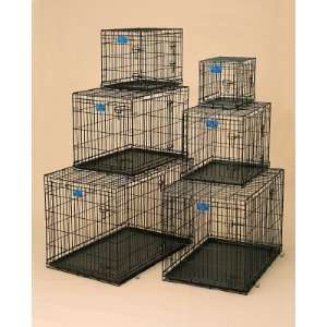 Metal Products MW00484 43x28x31 Dog Crate Double Door