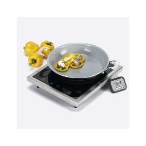 Magneflux Portable Induction Cooktop Includes non stick finish pan