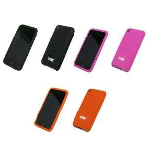 Cases (Black, Hot Pink , Orange) for Apple iPod Touch 4 Gen Cell