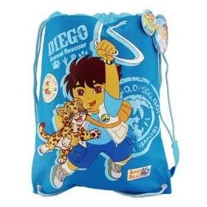 Diego from Dora Drawstring backpack Toys & Games