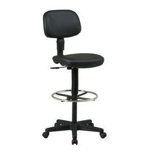 Office Star WorkSmart Vinyl Drafting Chair