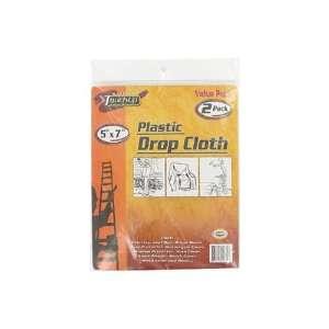 2 Pack plastic drop cloth, Assorted Cases Arts, Crafts