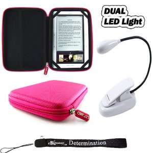 eBook Reader Dual Super LED Light with Flexible Goose neck (White