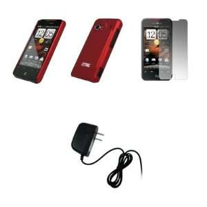 INCREDIBLE   Premium Red Stealth Snap On Cover Hard Case Cell Phone