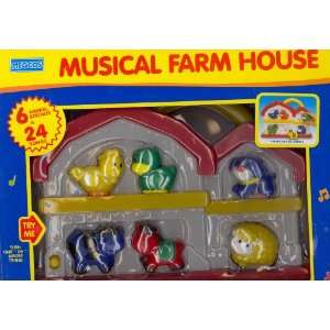 Musical Farm House Toys & Games