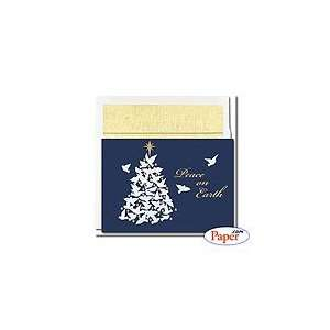 Century Collections   Foil Dove Tree   8 x 5 3/4   16