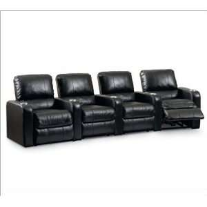 Home Meridian Palisades Black Leather with Power recline