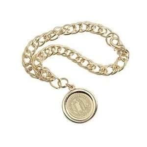 San Jose State   Charm Bracelet   Gold