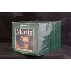 Bulk 12 Sets, Martin, Acoustic Guitar Strings, Extra Light