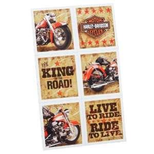 Hallmark 161105 Harley Davidson Stickers Toys & Games