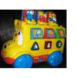 Fisher Price Talking Musical~abc/ 123 Learning Bus: Toys & Games