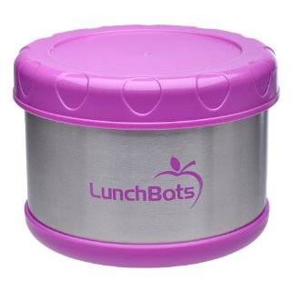 Thermal 16 ounce Stainless Steel Insulated Food Container, Dark Blue