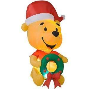 Egg Noggin Disney Winnie the Pooh Inflatable Holiday Yard Decoration