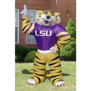 Lsu Tigers Ncaa Inflatable Mike Mascot Lawn Figure (96 Tall