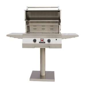 Solaire 27 Inch Basic Infrared Natural Gas Bolt Down Post Grill