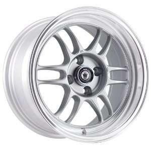 15x8 Konig Wideopen (Silver w/ Machined Lip) Wheels/Rims