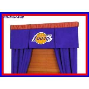 La/Los Angeles Lakers MVP Window Valance & 84in Drapes