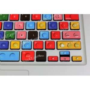 Colorful Keyboard Decal Sticker Skin Cover For Macbook 13/ Macbook
