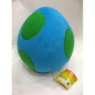 SUPERMARIOBROS Super Mario Blue Yoshi Egg Plush Toys