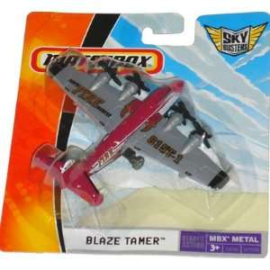 Matchbox Sky Busters (Red & Grey) BLAZE TAMER (MBFD Fire Rescue), MBX
