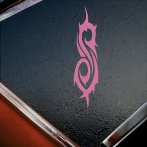 Slipknot Pink Decal Tribal Metal Band Truck Window Pink