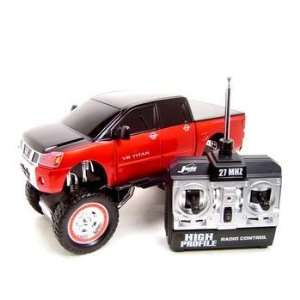 REMOTE CONTROL NISSAN TITAN RC CAR HIGH PROFILE 1:16