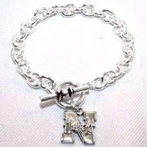 University of Nebraska Cornhuskers Charm Bracelet