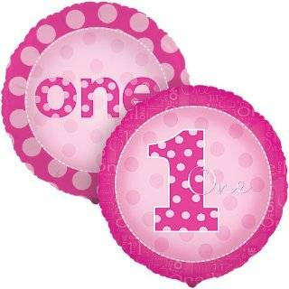 Everything One Girl Dessert Plates (8) Party Supplies